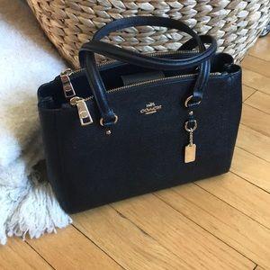 Black coach bag (optional crossbody)